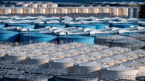 来源法新社用于存储福岛核电站的放射性水的水箱.jpeg