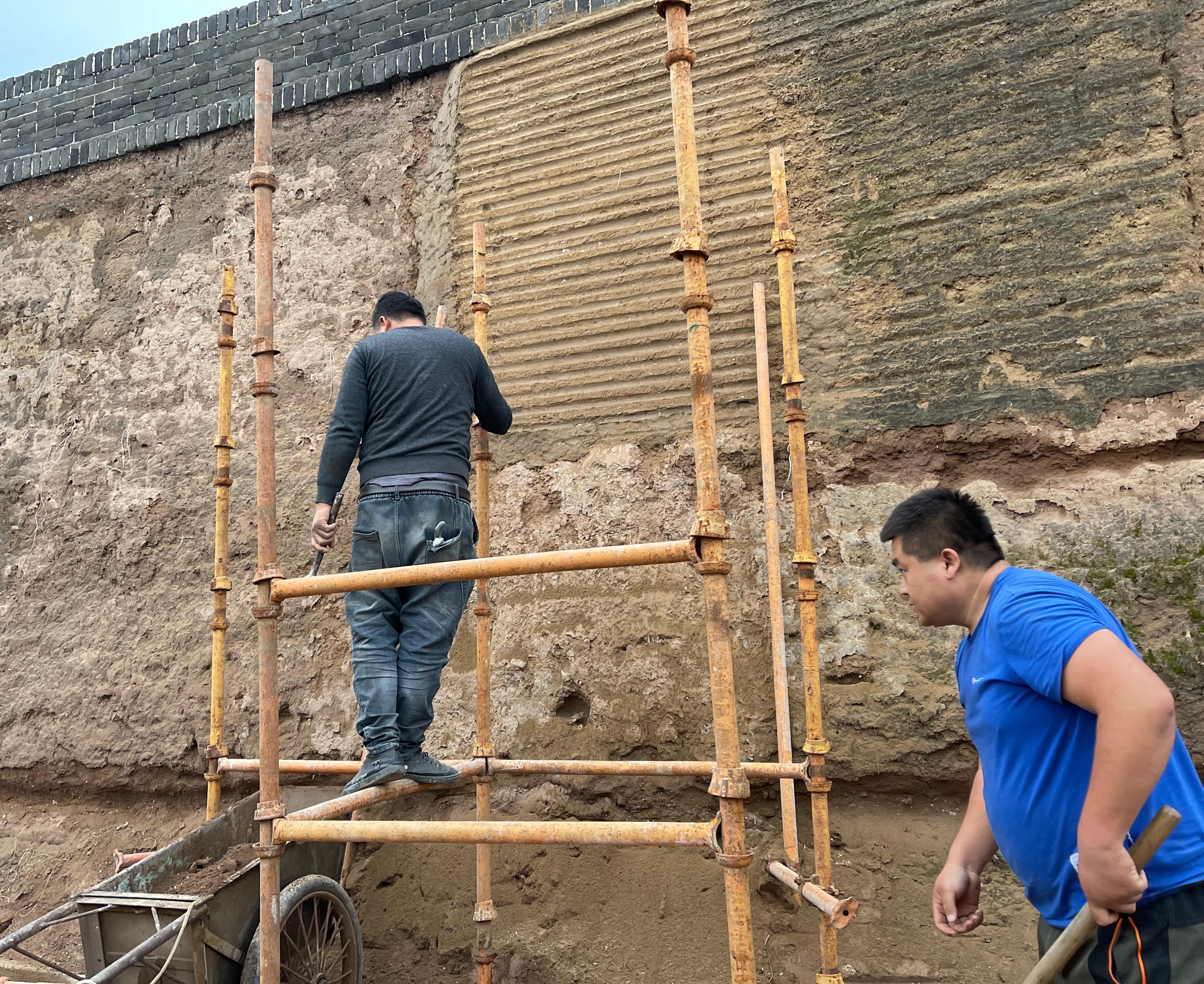 平遥古城南城墙坍塌处修补2.jpg